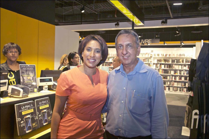 Stéphanie Filaumart, du groupe LM, et Aziz Patel