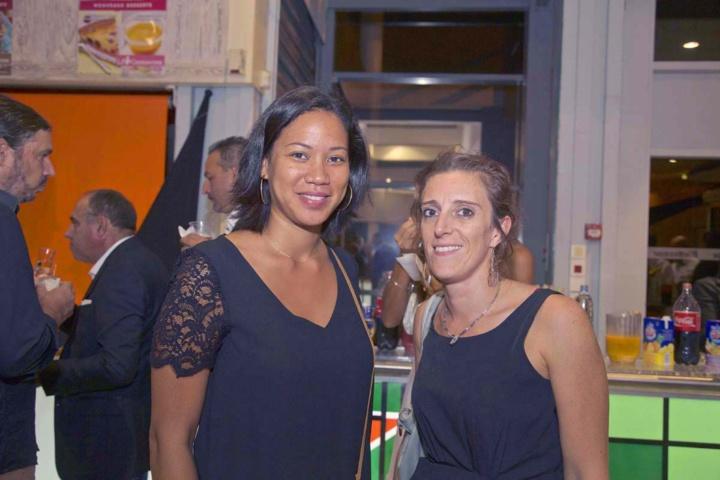 Emmanuelle Abmont du Service Communication Vindémia, et Caroline Jaber, responsable RH Jumbo et Fnac