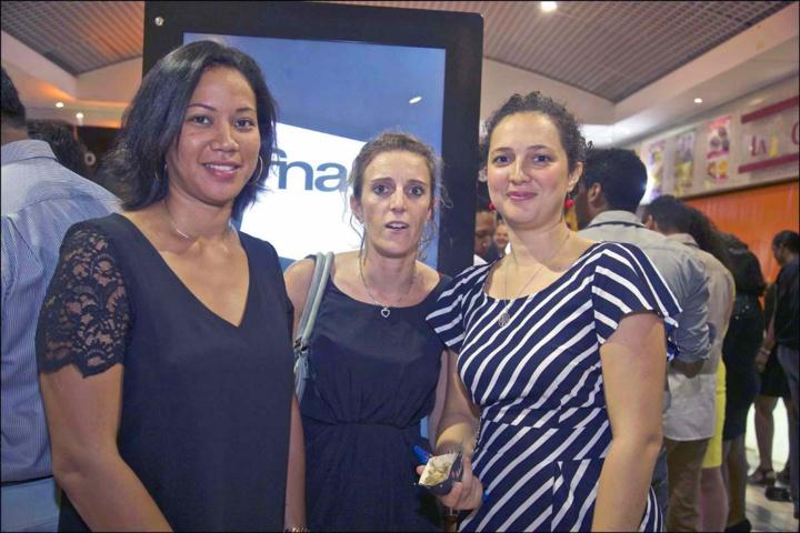 Emmanuelle Abmont, Caroline Jaber et Mélanie Ricquebourg, responsable Formation