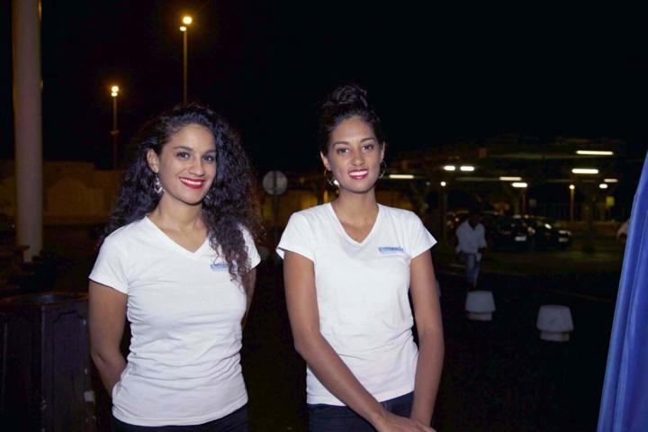 Jennifer et Marion, les hôtesses de la soirée