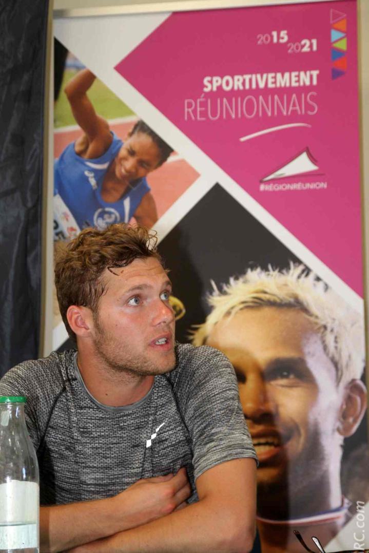 Kévin Mayer médaillé d'argent à Rio. Il a tout l'avenir devant lui...