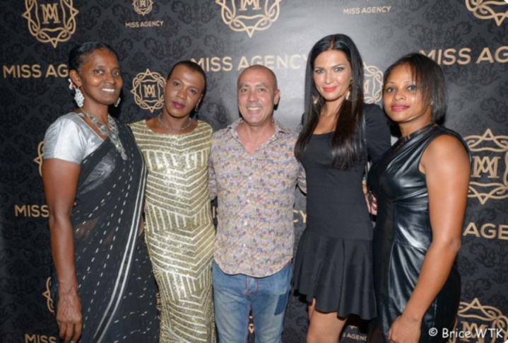 Sabey, créatrice, Pépita, coiffeuse, Dominique Barret, artiste, Corine Lauret, Miss Réunion 1994, et Natacha Basson, assistante de direction à la Poste