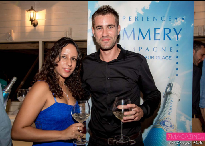 L'équipe des champagnes Pommery: Jennifer Nativel, assistante marketing, et Yoann Kargulewicz, Brand Ambassador Castel Covino