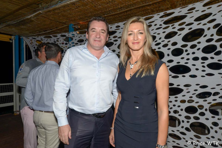 Pascal Turonnet, directeur du Créolia (groupe Exsel) et son épouse Virginie