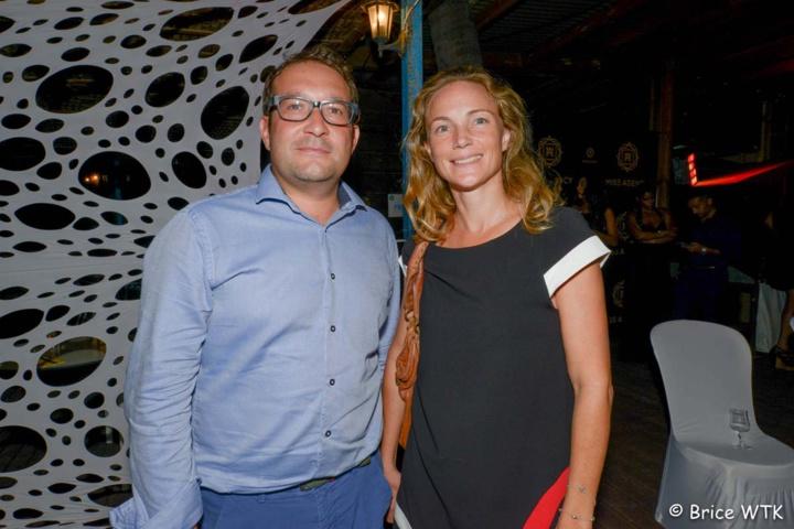 Cyrille Binggeli, responsable Pôle Ouest groupe Exsel, et son assistante Alexandra Drouhet