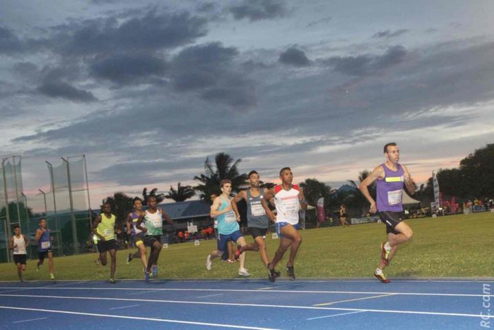 Vincent Hoarau en pôle position sur le 1500m