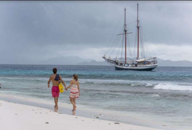 Elle a gagné notre fabuleuse croisière aux Seychelles