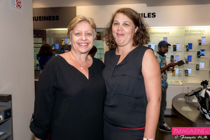Isabelle Nando et Virginie Boyer