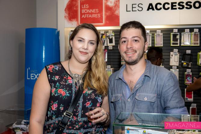 Carole-Anne Soula et Romain Ringwald