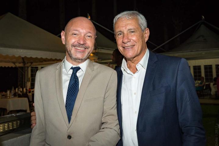 Anthony Chaullet et François Caillé, PDG du groupe Caillé