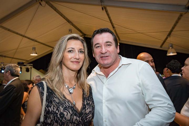 Virginie et Pascal Turonnet, directeur du Mercure Créolia/groupe Exsel