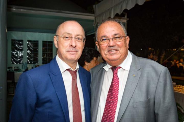 Christian Valette et Karl Técher