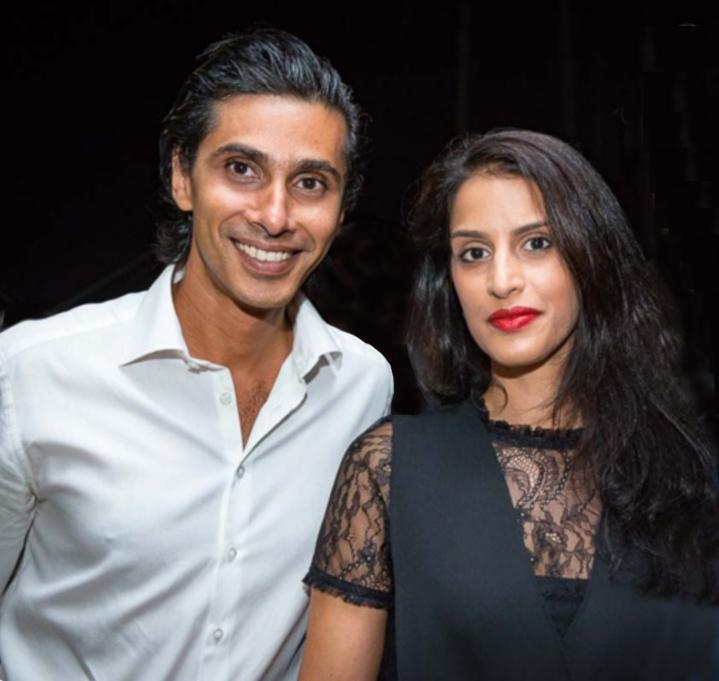 Shakir et Malika Locate du groupe Locate
