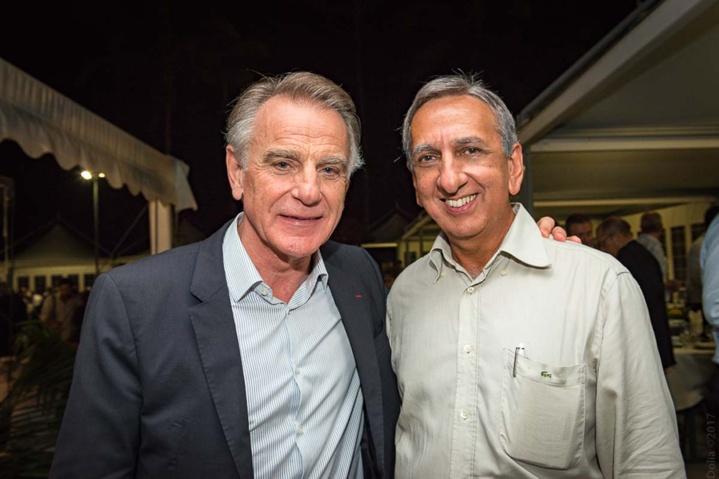 Jack Bouin et Aziz Patel