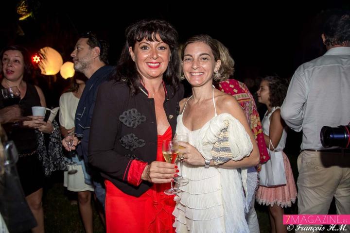 Carine Lecomte et une amie