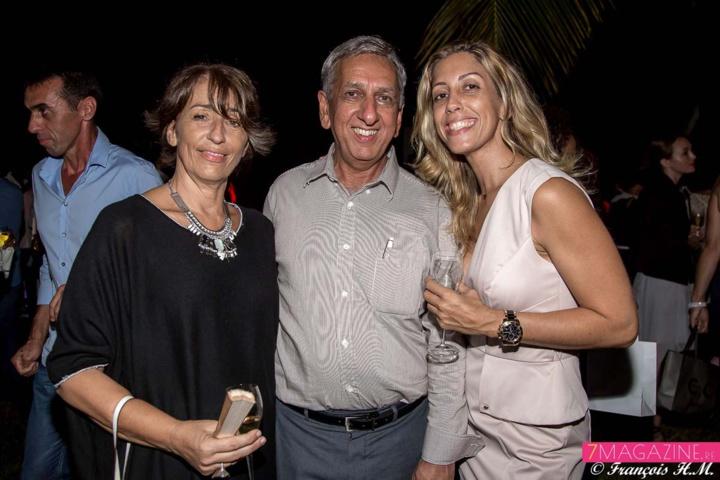 Ghislaine Labat, Aziz Patel et Magali Bodzen