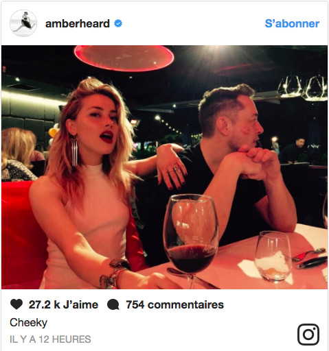 Amber Heard en couple avec un milliardaire