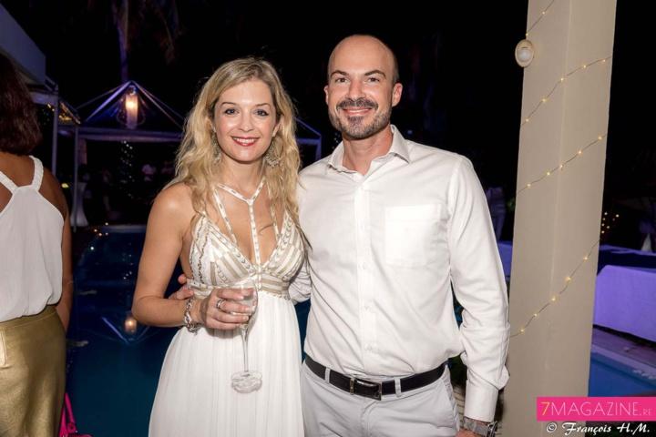 Johanna Giblot Ducray, et Willy Ethève, directeur de l'IRT (Ile de la Réunion Tourisme)
