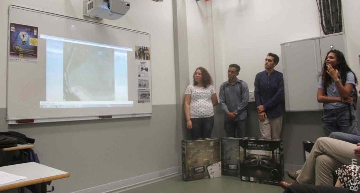 Présentation de la vidéo Requin' Roll réalisée par les jeunes Tamponnais