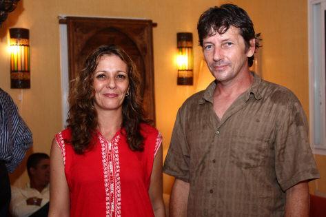 Sylvie et Thierry Delbourg,  gérants du Rïad