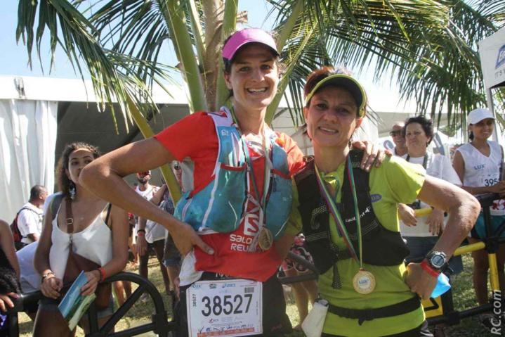 Camille Bruyas et Alexandra Clain avaient choisi la plus grande distance du jour