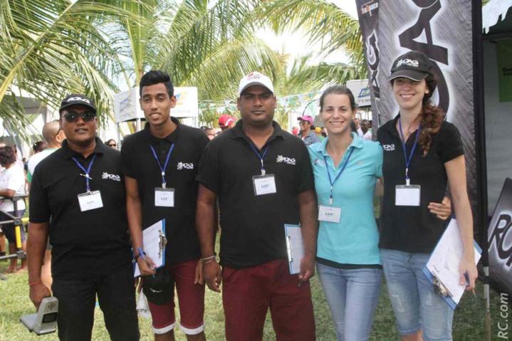 Nicole et ses collaborateurs de ROAG