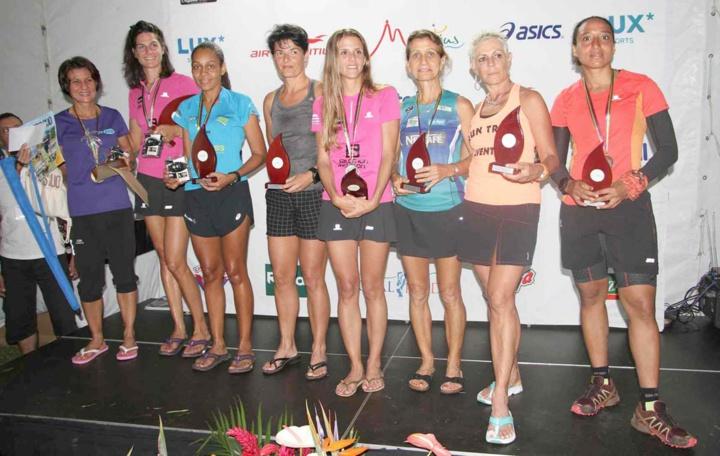 Le podium des 80 km Femmes : du beau monde assurément