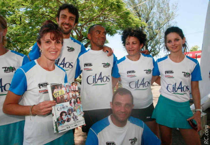 Le Team Cilaos s'est retrouvé dans les pages de Run-Sport