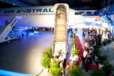 Le 777-300 à l'honneur