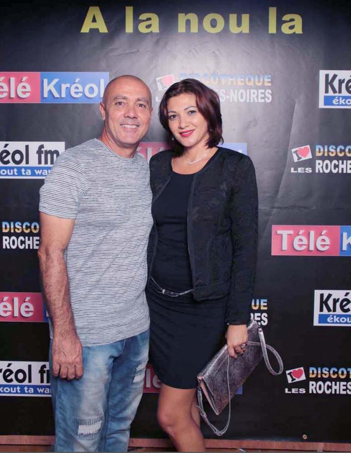 Dominique Barret et sa compagne