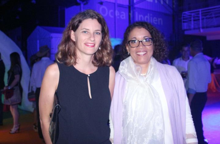 Pauline Boissimon, du Medef, et une invitée