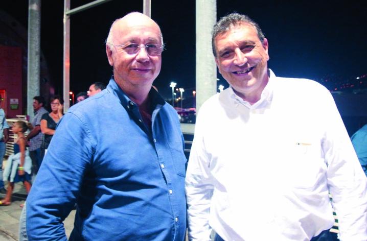 Didier Foucque, et Philippe Selzner, courtier