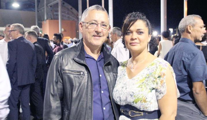 Henri Lebon, président de la CPPR, et son épouse