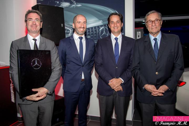 Bertrand Sireyjol, Hubert Mardon, Rodolphe Hayot et Bernard Hayot