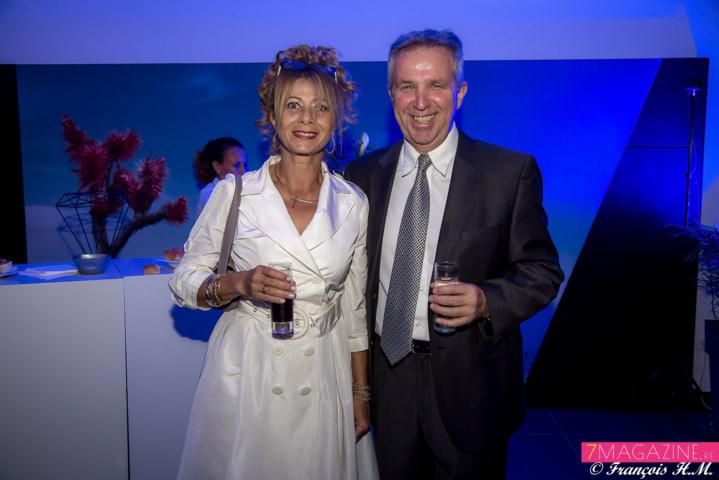 15.Michel Amalric, directeur Automobiles Réunion, et Dolly Wong Fong, gérante du salon coiffure/estéhtique Dolly