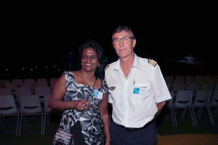 Mimose Miraraboutin, Responsable adjointe navigabilité, Christian Do Noscimiento, pilote