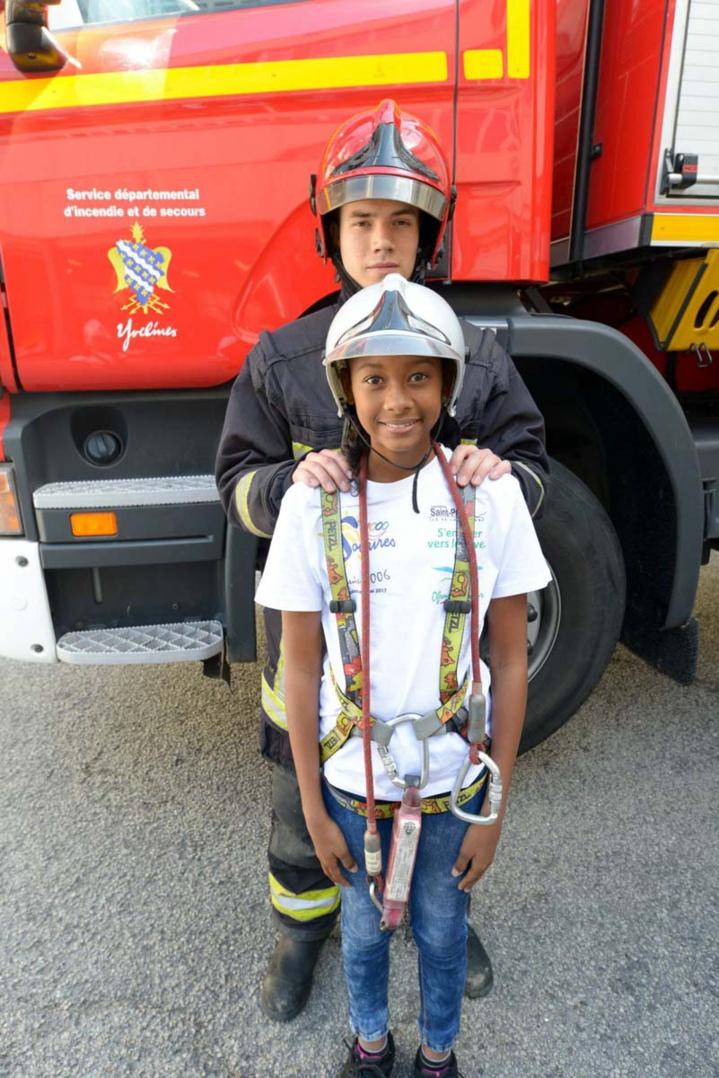 Avec les sapeurs-pompiers de Versailles