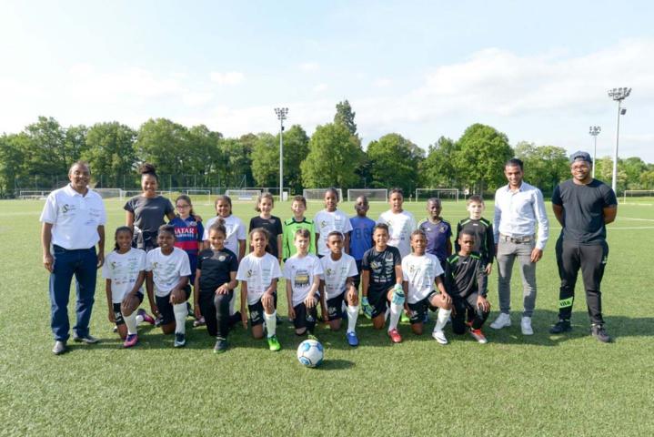 Un match entre 1000 Sourires et le FC Gobelins