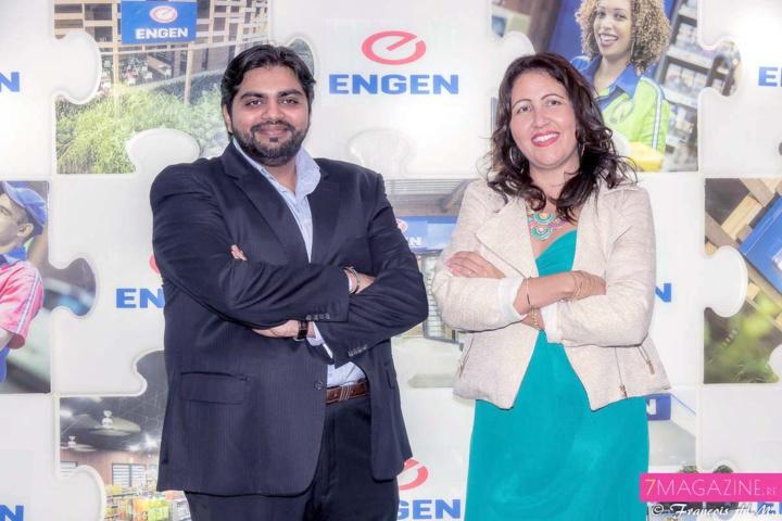 Goulam Jaffar, et Cindy Lokhat