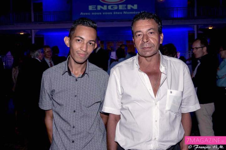 Mr Crescence de la société BMR et son fils