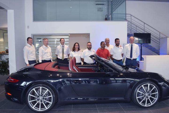 Le Centre Porsche Réunion inauguré