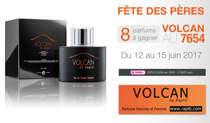Des parfums Volcan by Rapiti à gagner
