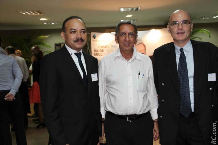 Pierre Hoolodor, Aziz Patel et Thierry Pierrat