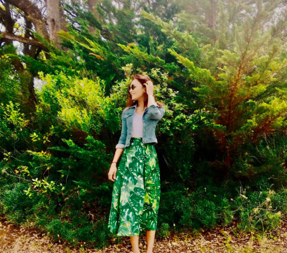 Valérie Bègue : raccord avec la nature
