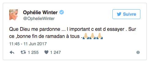 "Quand Ophélie Winter "" teste"" le Ramadan"