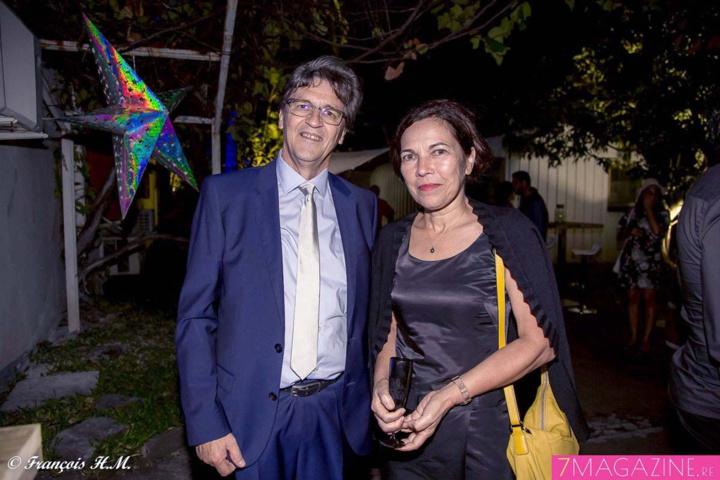 Alain Graulich et Marylène Hoarau