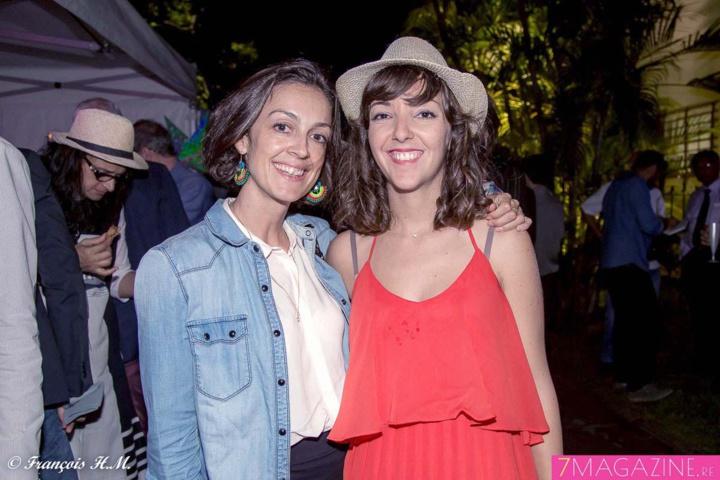 Gaëlle Céalac, ancienne collaboratrice Nautilus, et Morgane Bonet, chef de publicité Sénior Nautilus