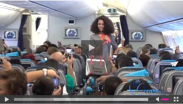[VIDEO] Défilé des candidates Miss Réunion à 10 000 mètres
