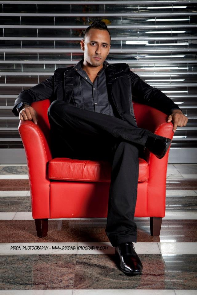 Maaz Dhaled, le beau gosse positif