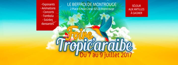 Foire Tropic'araibe à Paris du 7 au 9 juillet